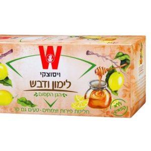 תה ויסוצקי לימון ודבש