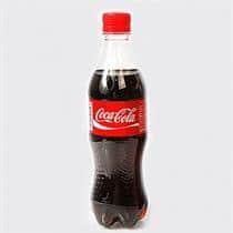 בקבוק קולה פלסטיק 1/2 ליטר