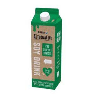 חלב הומוגני סויה מופחת קלוריות