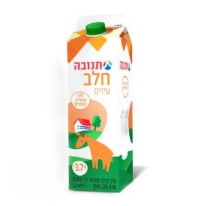 חלב הומוגני עיזים תנובה