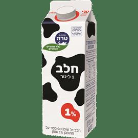 חלב הומוגני 1% טרה