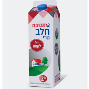 חלב הומוגני 1% תנובה