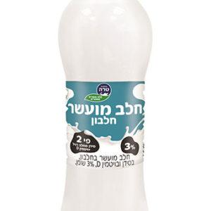 חלב מועשר בבקבוק טרה