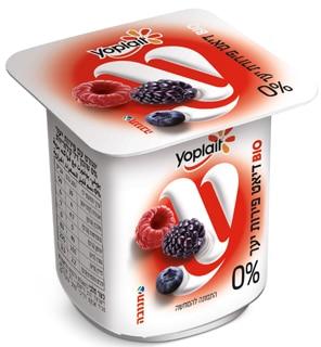 יוגורט יופלה פירות 0% שומן