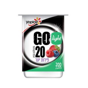 יוגורט יופלה פירות GO 20 גרם חלבון