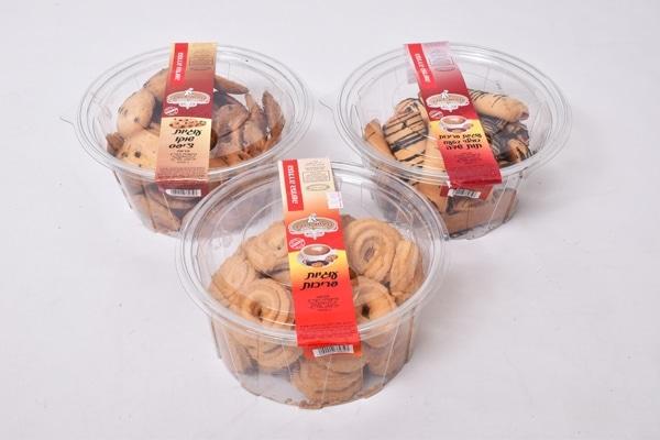 עוגיות בדלי 600 גרם טעמים שונים