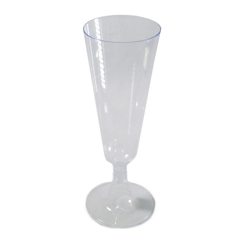 כוסות פלסטיק ליין עם רגלית 12 יחידות